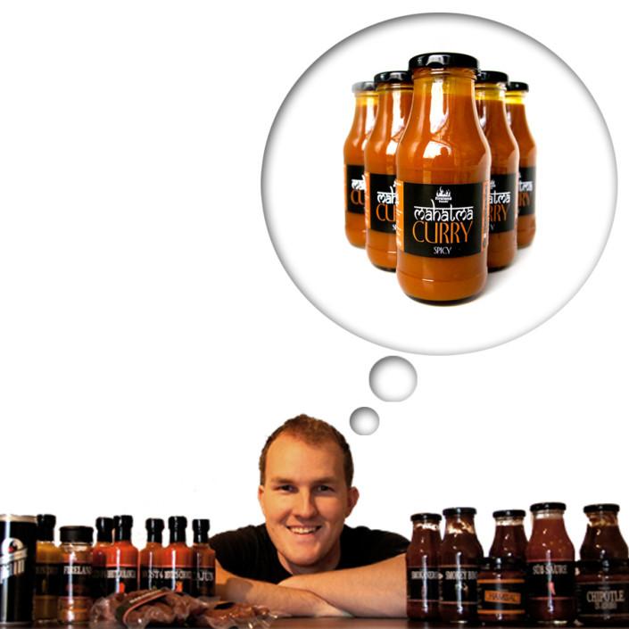 Vitamineck Blieweis / Göstling : Chili Saucen von Richis's Chilifarm