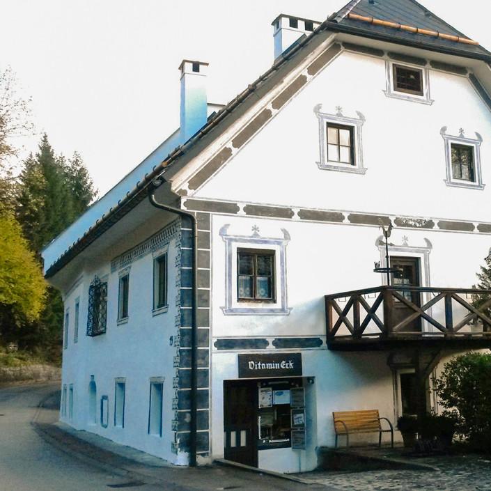 Vitamineck Blieweis / Göstling : Aussenansicht Fassziehammerhaus
